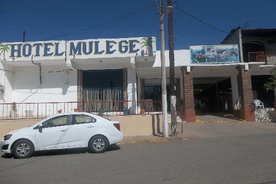 Hotel Mulegé: Fachada