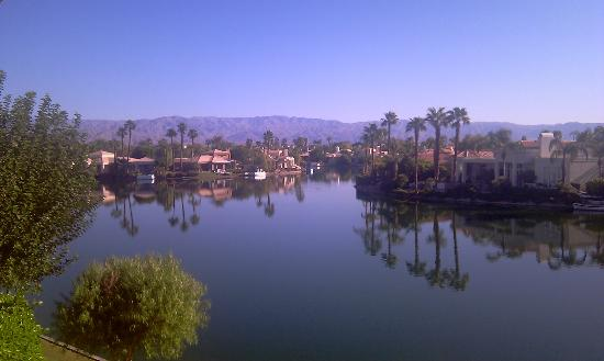 The Chateau at Lake La Quinta: From the balcony of Spa Suite #9