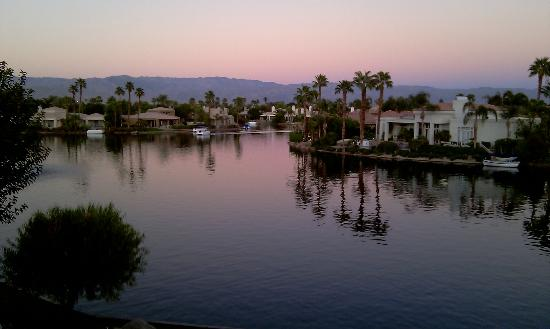 The Chateau at Lake La Quinta: View from Chateau Spa Suite #9