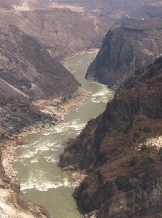 Shanghutiao Canyon: la mejor zona de la garganta es la zona central, menos turística