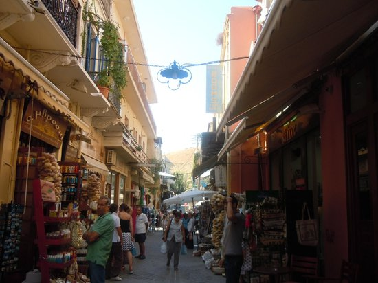 Chania Town, Greece: mercato
