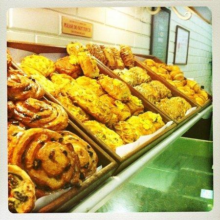 Theobroma : croissants and Danish pastries