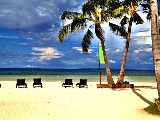 Santa Fe, Filipinas: the white sand