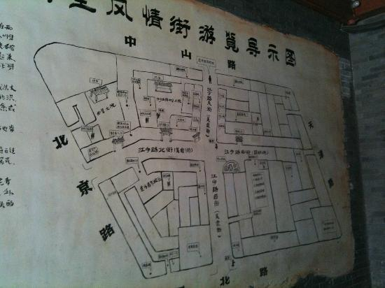 Starway Hotel Pichaiyuan Courtyard: Map of the area.