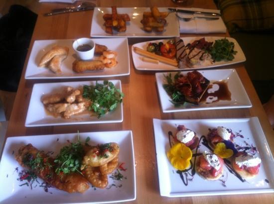 The Mendip Inn : Tapas - make sure you arrive hungry!