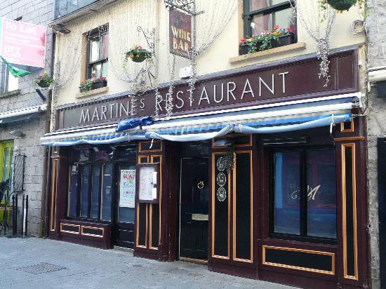 Martine S Restaurant Galway Menu