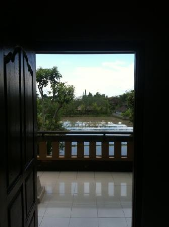 Saren Indah Hotel : rice field view !