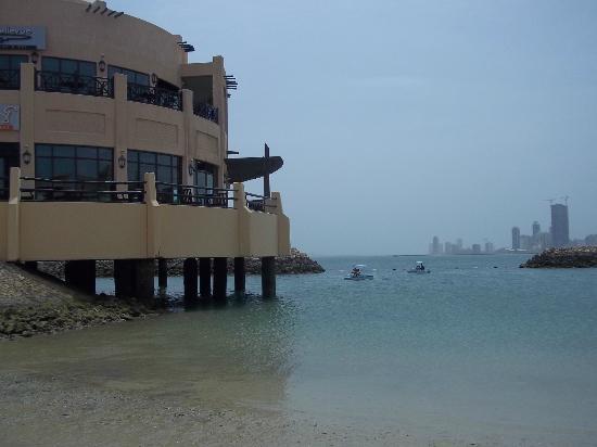 Novotel Bahrain Al Dana Resort Le Bellevue Bar Overlooking Beach Area
