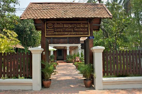 Luang Prabang Residence : Entrée