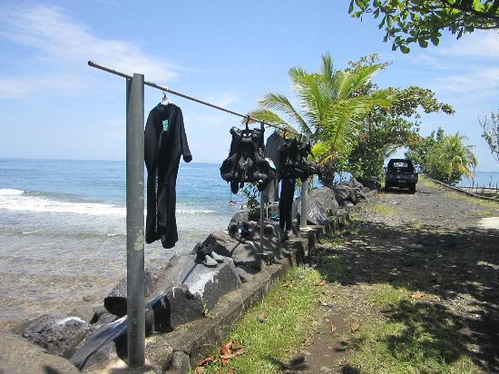 Lumbalumba Diving: diver's gear