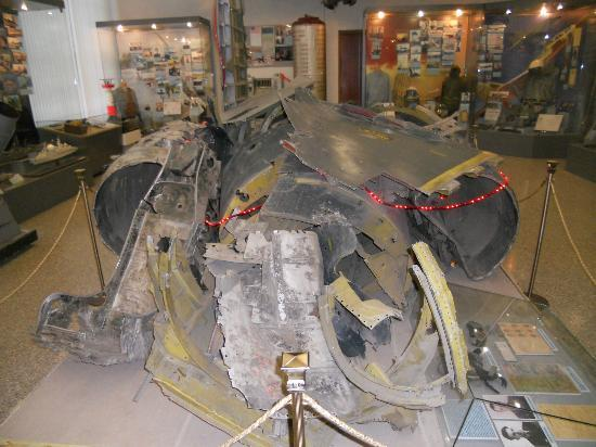 Central Armed Forces Museum Of Russian Federation U 2 Spy Plane Wreckage