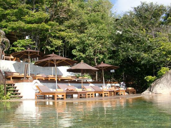 Silavadee Pool Spa Resort: Der gemeinsame Pool