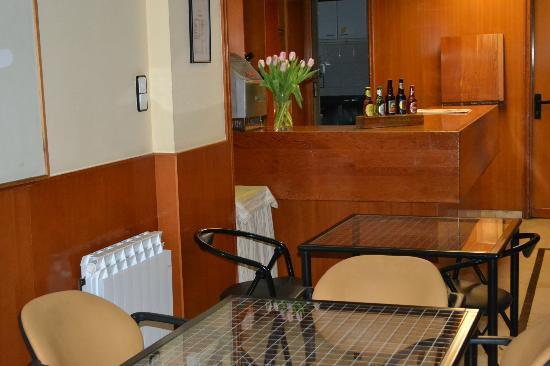 Hotel Sauce: Comedor vacio