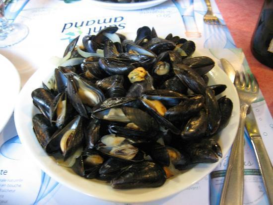 Brasserie La Pierre - Chez Edwige : assiette moules