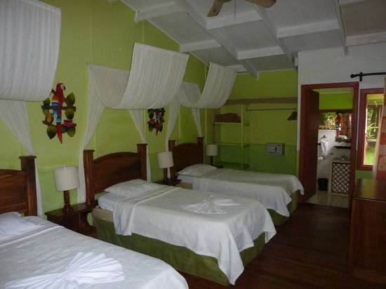 Samoa Lodge & Resort Tortuguero: exemple d'une chambre