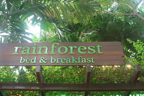 Rainforest Bed and Breakfast: Rainforest BnB Hotel - great stay!