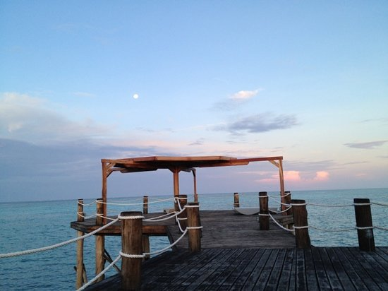 Essque Zalu Zanzibar: the Jetty at Sunset