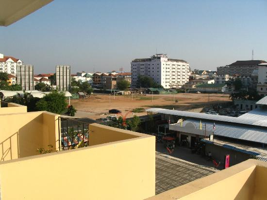 Golden Beach Hotel: view from odd number room