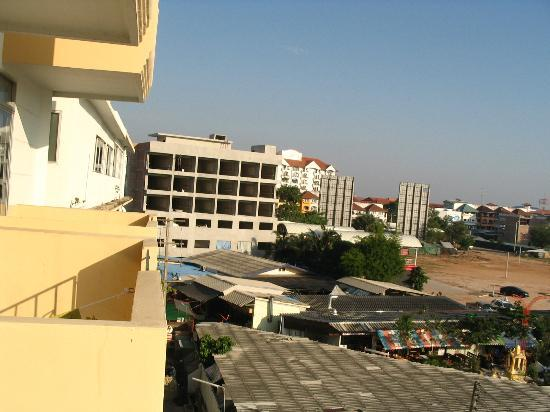 Golden Beach Hotel: view to east from odd number room