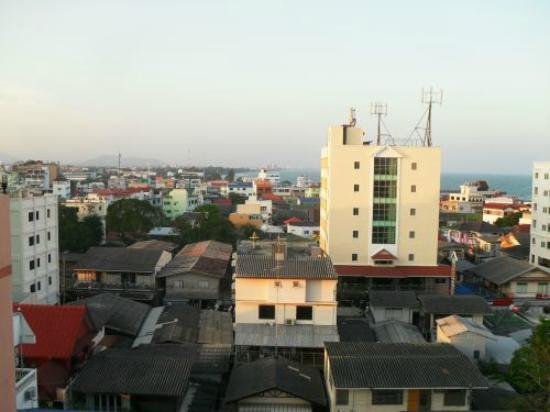 Thipurai City Hotel: Aussicht vom Dach