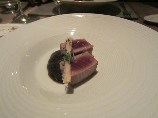 Con Gracia: Seared tuna