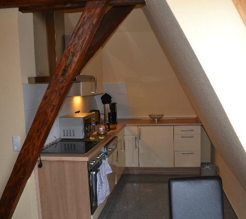 Hotel am Alten Hafen: Apartment - Küche