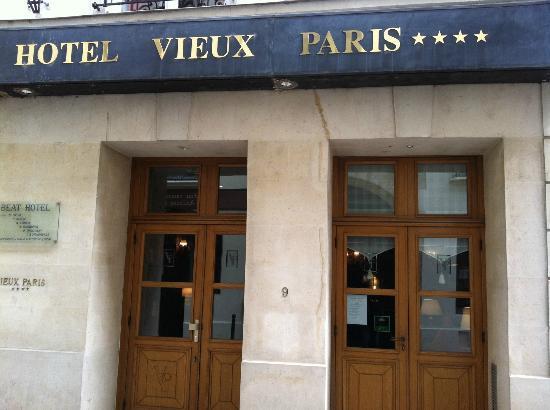 Relais Hotel du Vieux Paris: ingresso