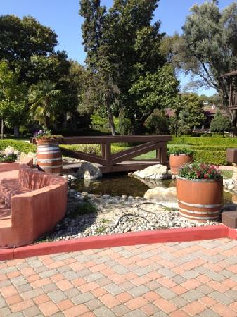Paso Robles Inn: the garden