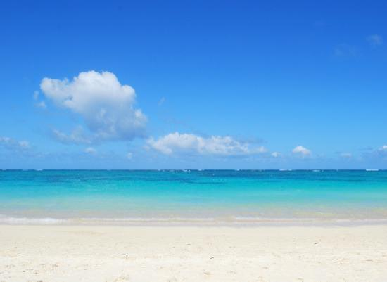 Lanikai Beach: Great weather