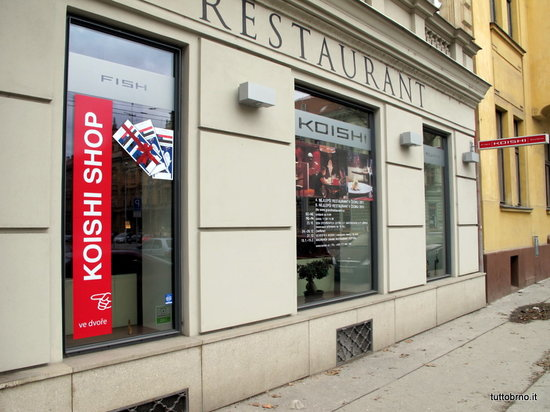 KOISHI fish & sushi restaurant : esterno del ristorante
