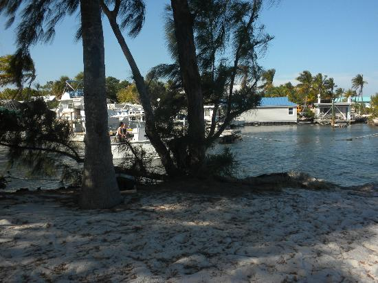 Tarpon Flats Inn: The spit