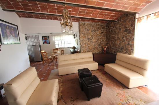 Villa De La Plata: villa donde nos hospedamos