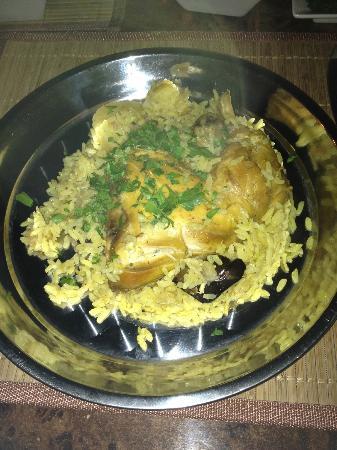 Heritage Experience Restaurant: Maqluba (Upside down) dish