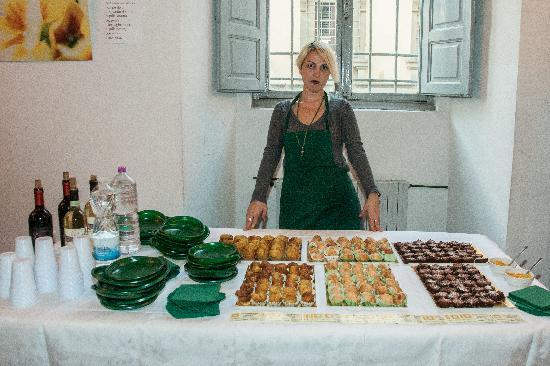 La Cuoca Romina: a buffet