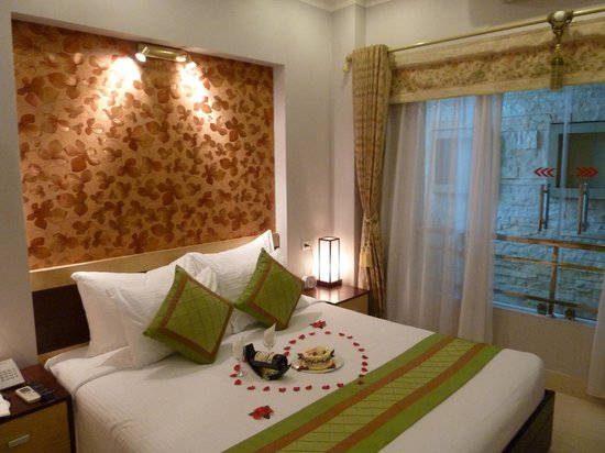 Hanoi City Palace Hotel: Our lovely room!