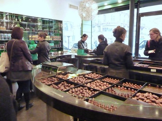 patrick roger chocolatier paris quartier latin menu. Black Bedroom Furniture Sets. Home Design Ideas
