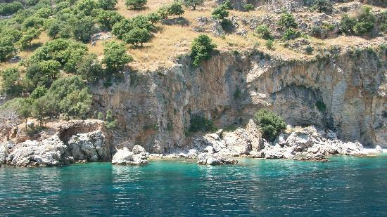 Marmaris Park: Photos from boat-trip around the gulf