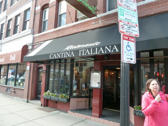 Photo of Italian Restaurant Cantina Italiana at 346 Hanover St, Boston, MA 02113, United States