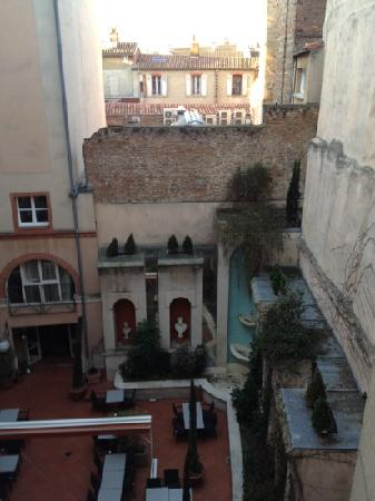 Crowne Plaza Toulouse : Inside court view from the room