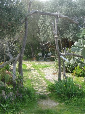 B & B La Gatta sul Tetto: Der schöne Garten