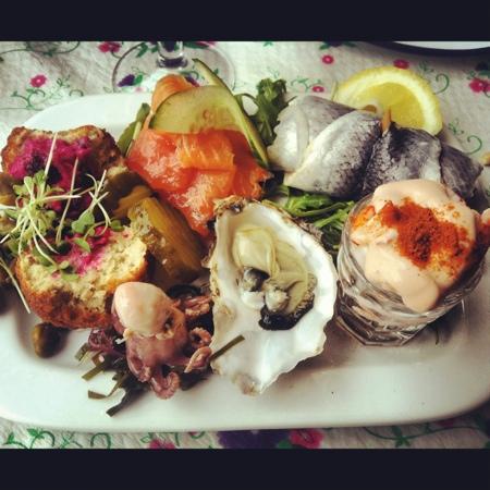The Little Fish Market: seafood platter