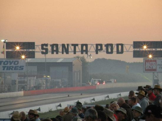 Santa Pod Raceway: finisch