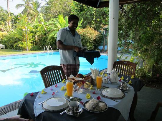 Hotel Blue Sapphire: farewell breakfast