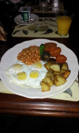 The Little House Bed & Breakfast : more double yokes than statistically conceivable