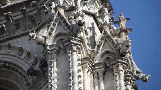Notre Dame Cathedral Creepy Gargoyles