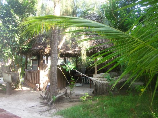 Casa Umoja: the beautiful garden