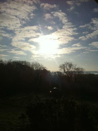 The Yurt Farm: morning view