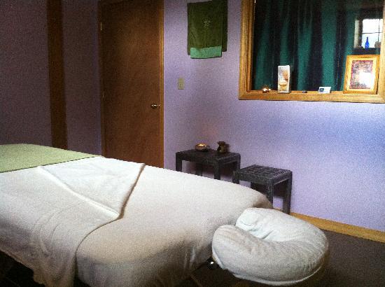 Bliss Bodywork office