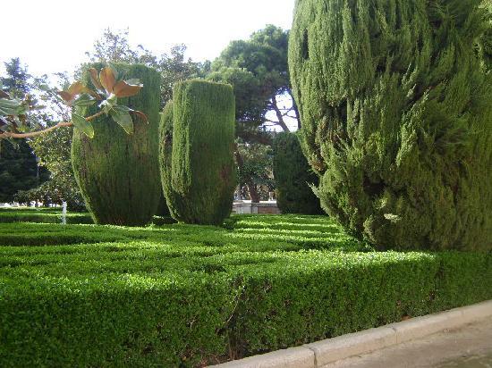 Jardines de sabatini de madrid picture of jardines de for Jardines de sabatini