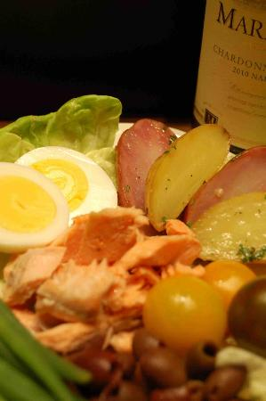 CineBistro: House Smoked Red Trout Nicoise Salad Special